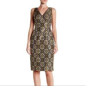 [Adrianna Papell] Jacquard Sheath Dress